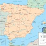 Mapa da Espanha Imagens Variadas