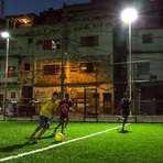 Futebol - Luz gerada com a energia dos jogadores !!!