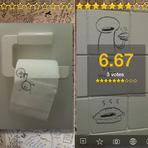 """Aplicativo permite compartilhamento de """"artes"""" realizadas no banheiro"""