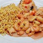 Culinária - Receita de Strogonoff de Camarão