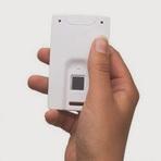 Mastercard Insere em Cartão de Crédito Sensor de Impressão Digital