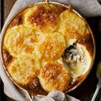 Culinária - Batata gratinada com sardinha light