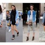 Looks com camisas jeans feminina 2015