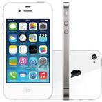 "Produtos - iPhone 4s Apple 8GB 3G iOS 7 Tela 3.5"" Wi-Fi - Câmera 8MP Grava em HD + Frontal GPS - Branco Bivolt"