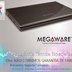 Assistência,Manutenção de Notebooks Megaware em Porto Alegre