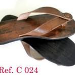 Os lindos modelos de chinelos de couro que fazem o maior sucesso
