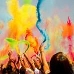 Arte & Cultura - Festival das Cores Holi 2014 acontece neste sábado