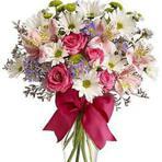 Arranjos de flores do campo e rosas, originalidade em primeiro lugar!