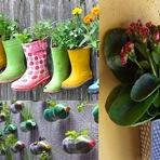 Arquitetura e decoração - horta ou jardim em pouco espaço