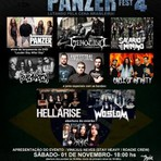 Música - Panzer Fest 4 reuni ícones do Metal nacional