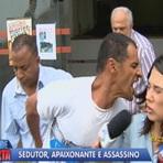 Suposto serial killer que matou 4 pessoas agride repórter da Record estilo hannibal