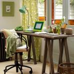 Arquitetura e decoração - O charme pessoal da mesa do Home Office