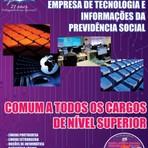 Concursos Públicos - Apostila concurso público da DATAPREV, 2014 Cargo de Nível Médio