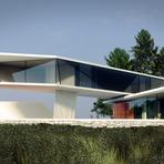 Arquitetura e decoração - Casa sustentável de arquitetura arrojada