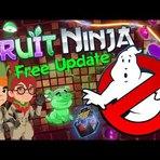 Jogos - Fruit Ninja encontra os Caça-Fantasmas