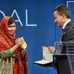 Malala Yousafzai recebe a medalha da liberdade nos Estados Unidos