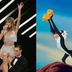 Rei Leão misturado com Taylor Swift
