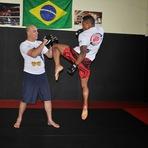 Esportes - Atleta de MMA Jr Preto de Registro-SP pode entrar em reality show da Globo