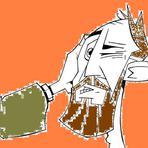 Pedro corta a orelha do servo do sumo-sacerdote.