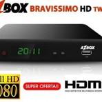 Internet - Nova atualização Azbox Bravissimo Twin HD