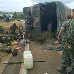 Acidente com veículo do Exército deixa 3 mortos em Minas Gerais