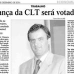 """""""Candidato anti-trabalhadores trabalhou duro para aprovar projeto que alterava CLT"""""""