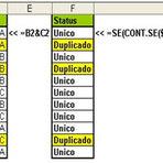 Tutoriais - Excel: Como verificar se existem valores duplicados