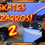Vídeos -  Skates Bizarros - Skate in Roça.