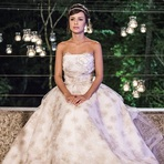 "Vestido de Noiva de Maria Clara da Novela ""Império"""