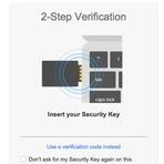 Segurança - Google reforça verificação de conta em duas etapas com uso de 'chave física'