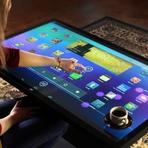 """Tecnologia & Ciência - Películas plásticas touchscreen criam """"mega-tablets"""" em qualquer superfície"""