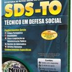 Apostila Concurso SDS-TO Técnico em Defesa Social 2014 - Nova Concursos