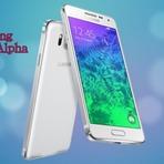 Galaxy Alpha da Samsung com design de metal