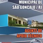 Concursos Públicos - Apostila Concurso Prefeitura Municipal de São Gonçalo – Rio de Janeiro, 2014  Agente de Apoio Técnico.