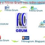 Siga a Filtros Grum nas redes sociais!