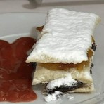 Culinária - Folheado de Chocolate com Laranja receita Mais Você 24/10/2014