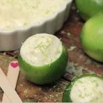 Culinária - Mousse de Limão no Próprio Limão