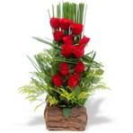 Arranjos de flores rosas vermelhas – impacto surpreendente