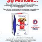 Conheça o Sal sem Sódio - DaSalBor.