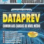 Apostila DATAPREV 2014 - Comum aos Cargos de Nível Médio[+CD Grátis]