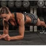 Saúde - O Poder do Exercício Prancha Abdominal