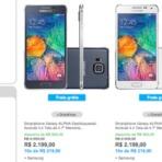 Galaxy Alpha, o top de metal da Samsung, começa a ser vendido no Brasil