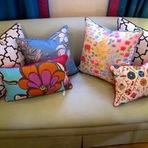 Arquitetura e decoração - Almofadas Coloridas Para Sofá, Lindas Opções!