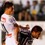 Futebol - Santos Perde Para O Fluminense Na Vila.