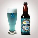 A cerveja azul