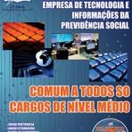 Concursos Públicos - Apostila (ATUALIZADA) COMUM A TODOS OS CARGOS DE NÍVEL MÉDIO - Concurso Dataprev 2014