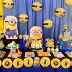 """Hobbies - Tudo o que você precisa, para fazer uma festa com o tema """"Minions""""!"""