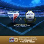 Fortaleza x Macaé - Jogo valendo pelo acesso a série B