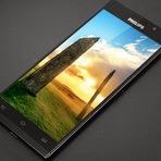 Philips Lança Smartphone i966 Aurora com 5,5 polegadas tela QHD, com sensor de impressão digital