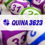 Entretenimento - Quina 3623